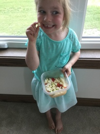 """This is a """"salad"""" for her babysitter"""